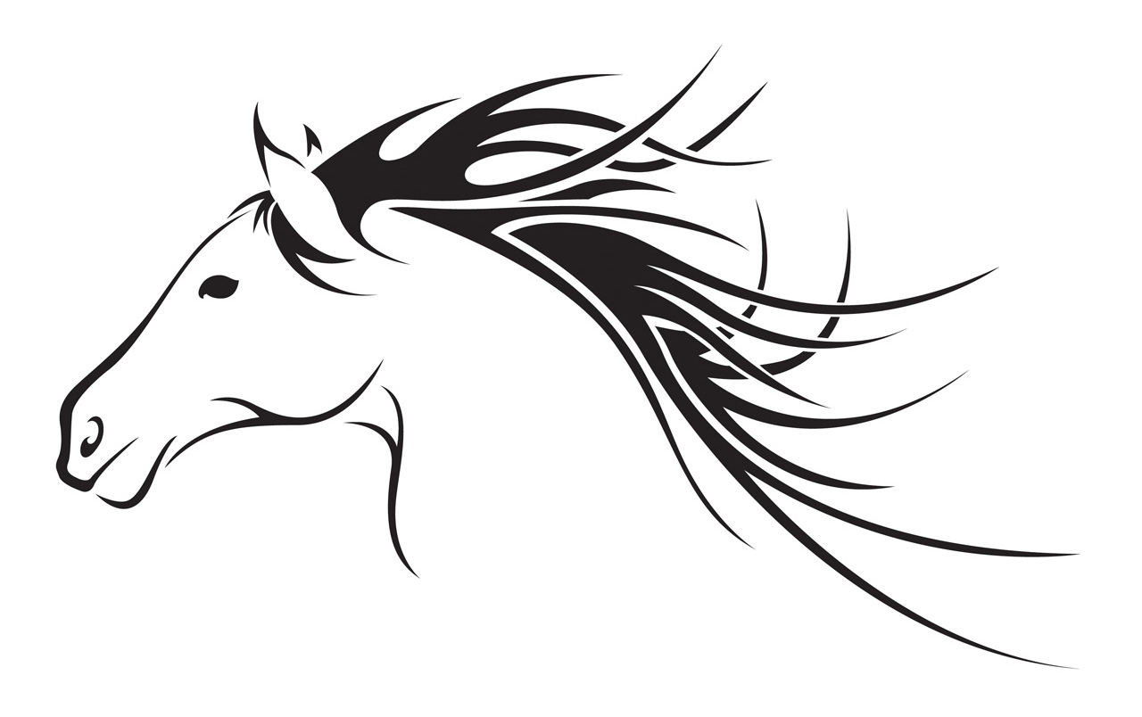 Horse Clipart Outline Images