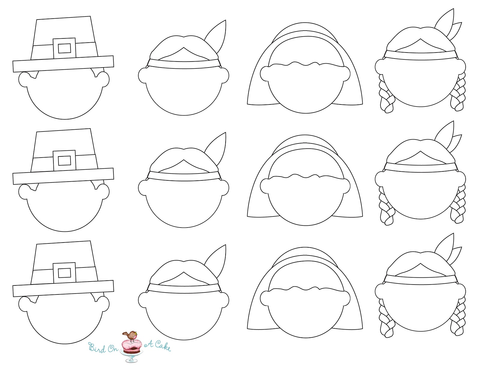 Free Outline Of Cupcake With Face Download Free Clip Art