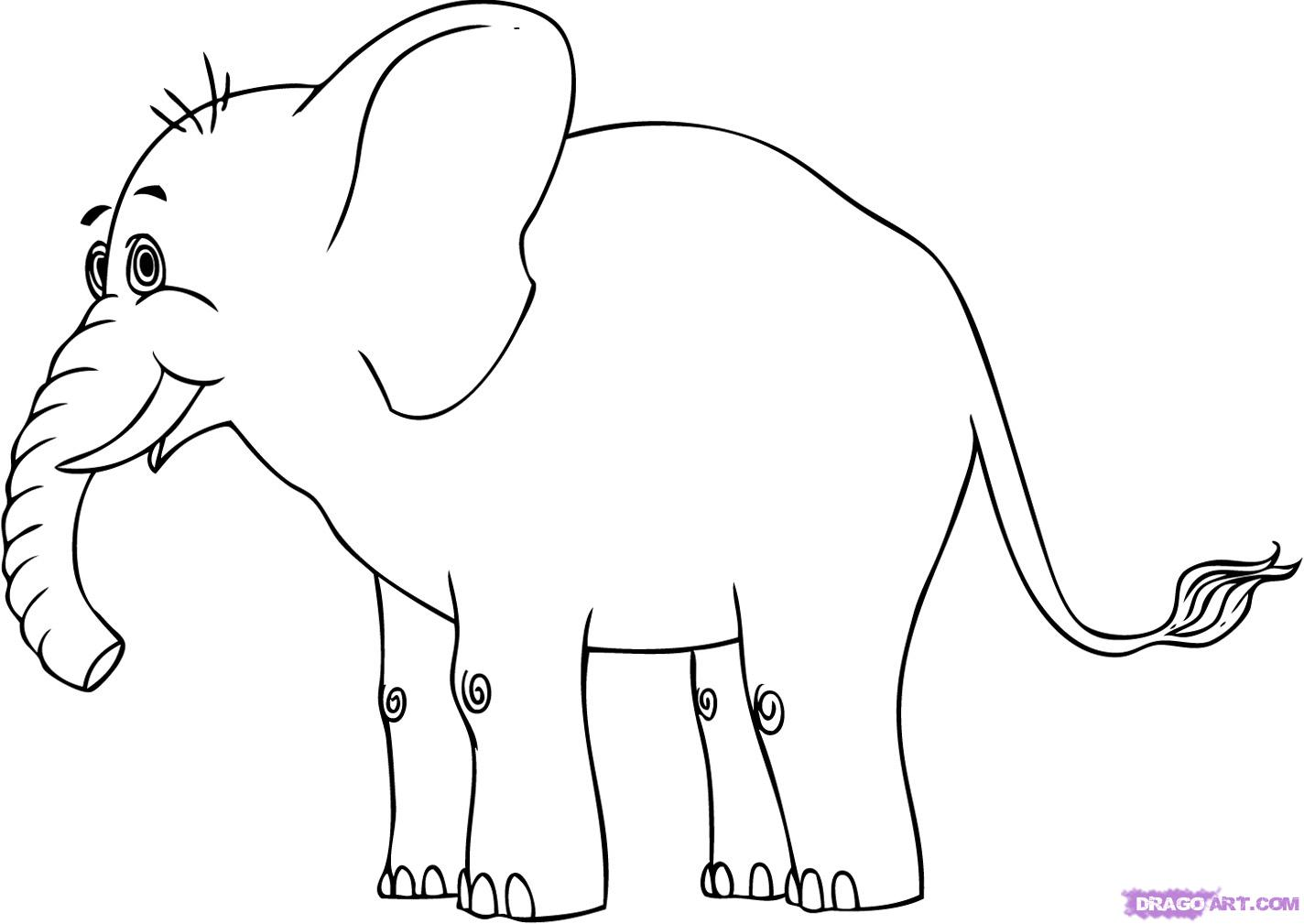 Daley Geib Cartoon Elephant