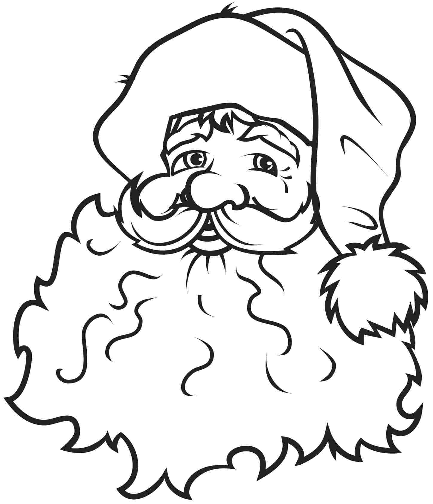 Free Santa Claus Outline Download Free Clip Art Free Clip Art On Clipart Library