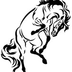 Free Horse Tattoo Download Free Clip Art Free Clip Art On Clipart Library
