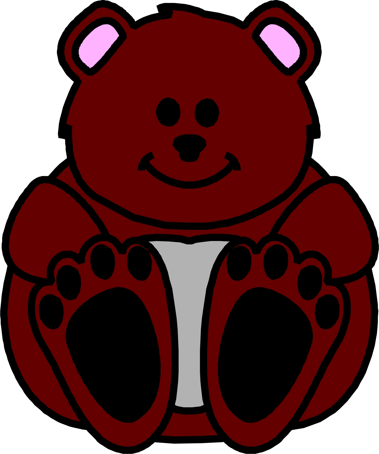 Cartoon Bears Images Clipart Library