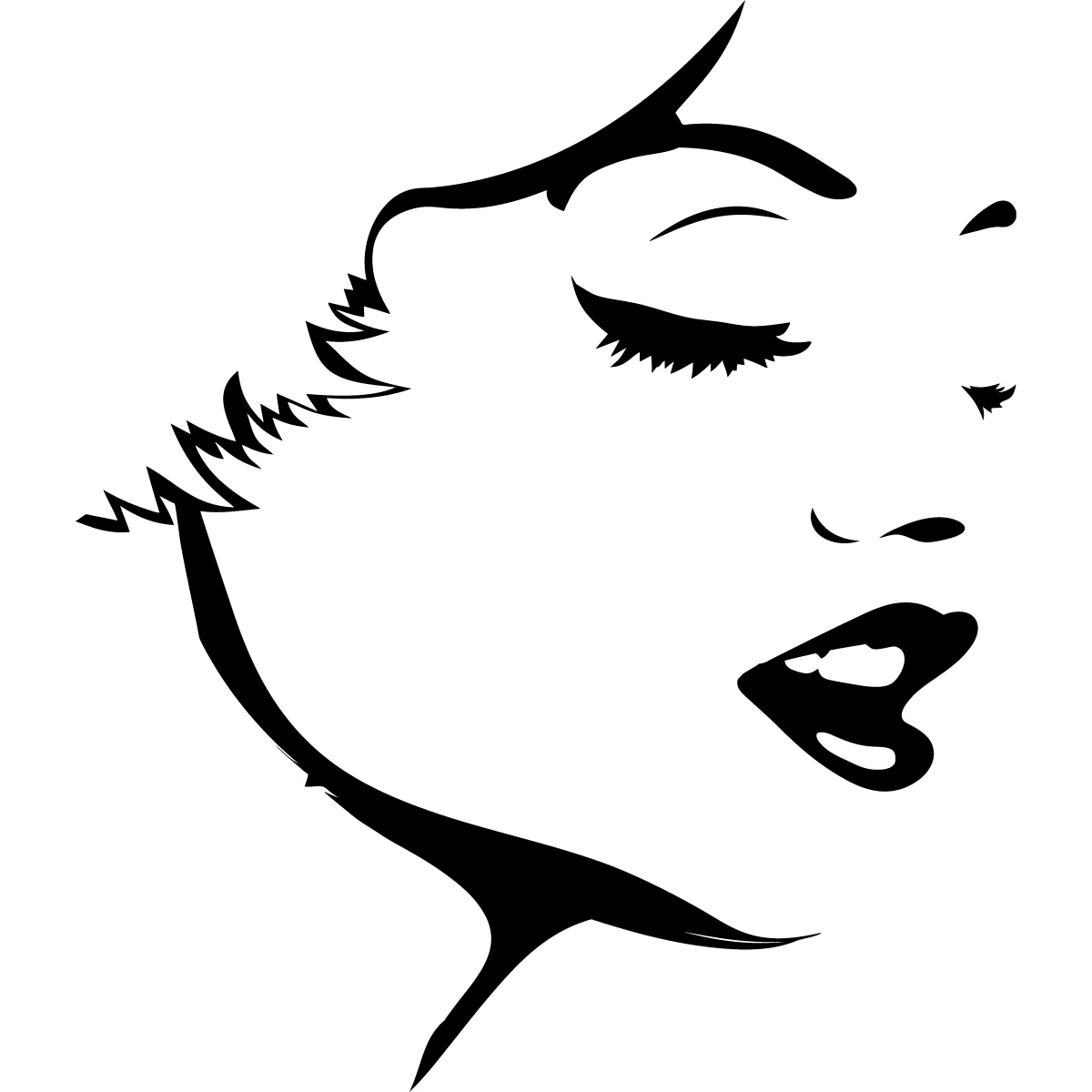 Free Outline Of Face Download Free Clip Art Free Clip