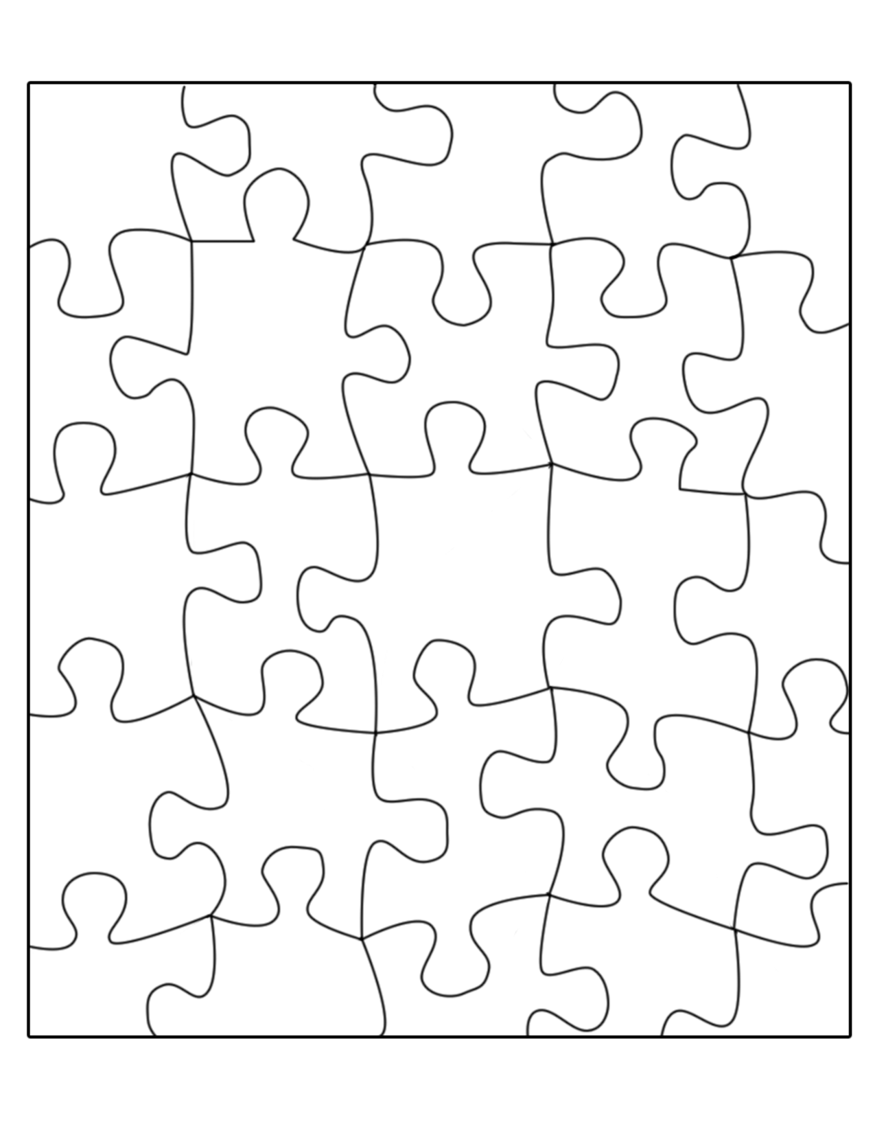 Free Puzzle Template Download Free Clip Art Free Clip Art On Clipart Library