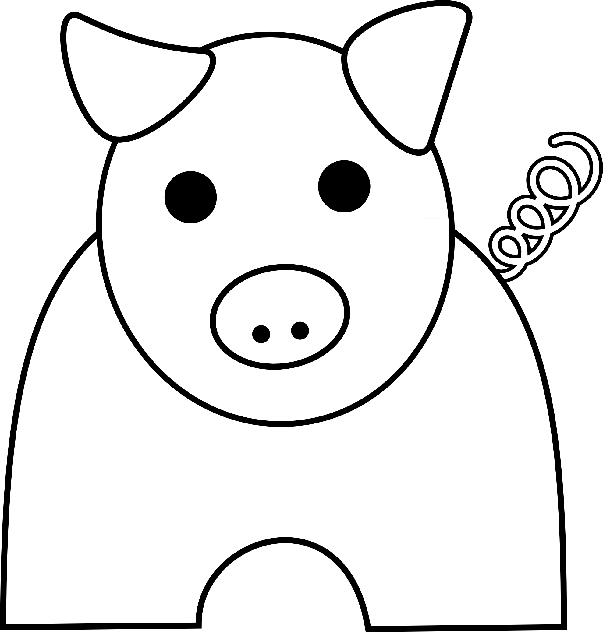 Free Pig Graphics Download Free Clip Art Free Clip Art