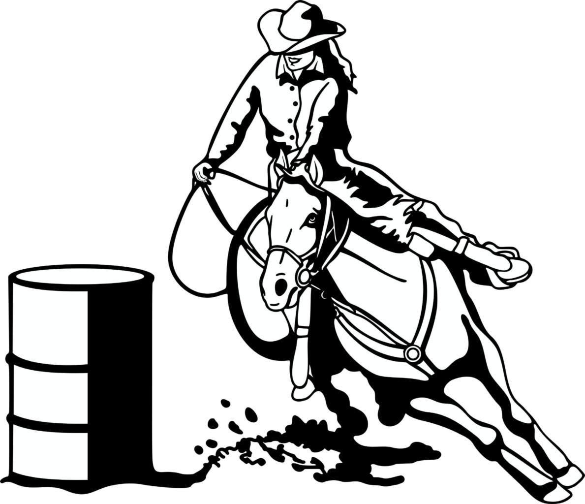 Free Barrel Racing Clipart Download Free Clip Art Free