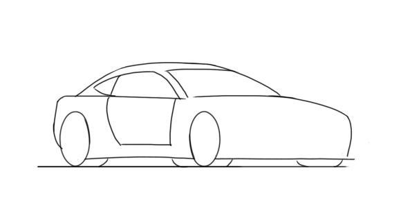 easy tiny car drawings - Clip Art Library