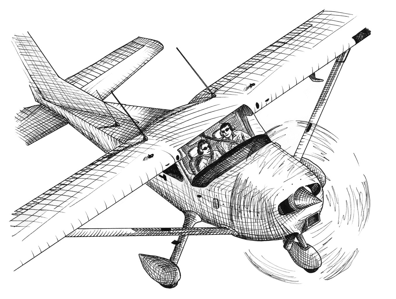 Easy Plane Crash Drawing By Ocv9 On Clipart Library