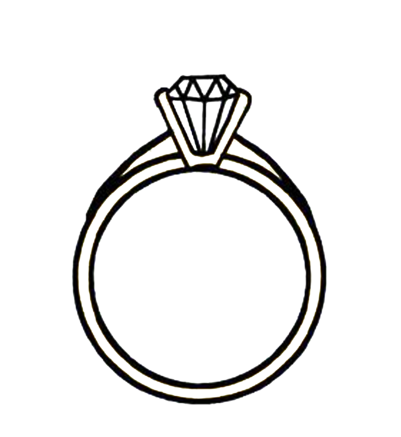 Free Wedding Ring Drawings Download Free Clip Art Free