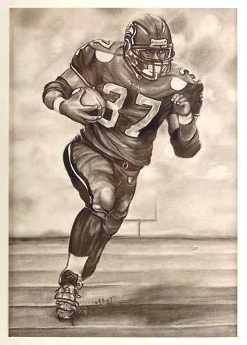 Free Football Player Drawing Download Free Clip Art Free