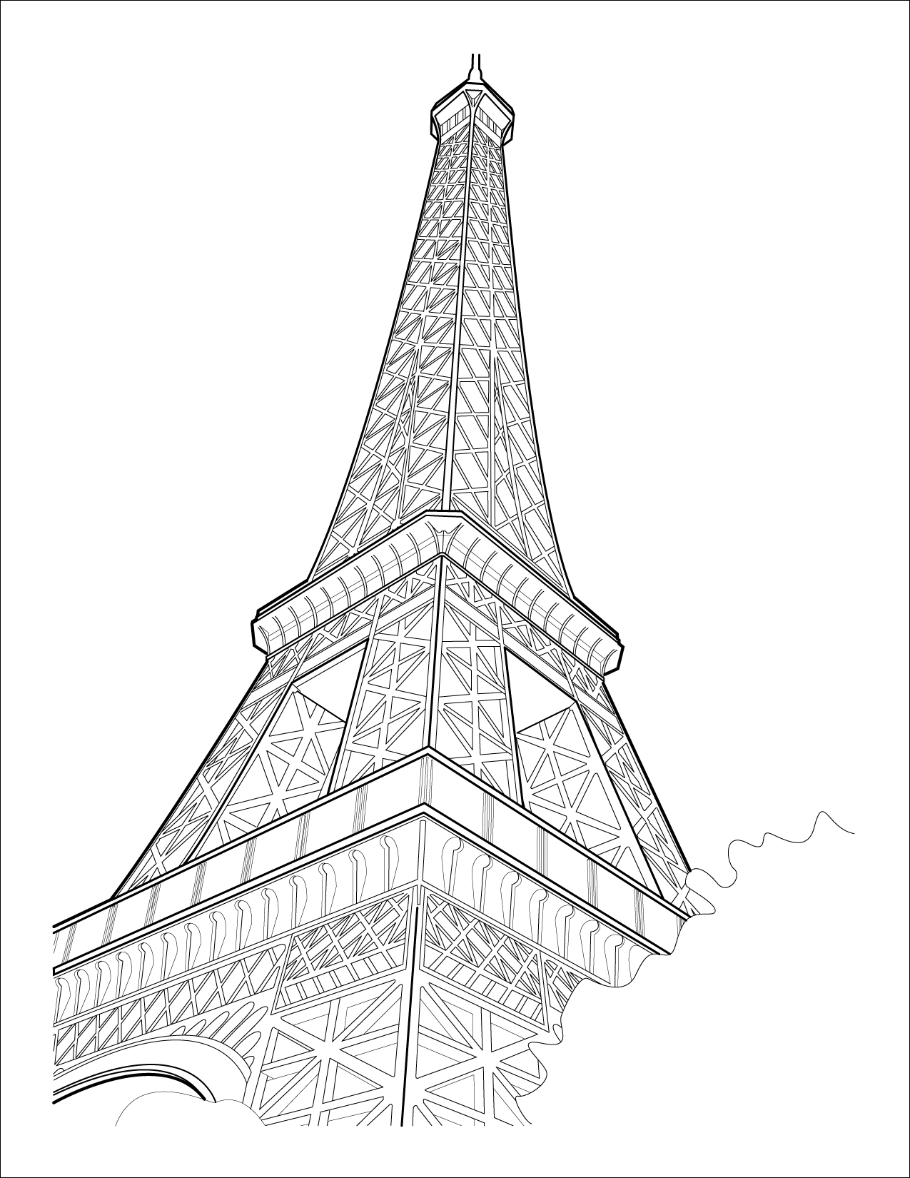 Free Eiffel Tower Vector Download Free Clip Art Free