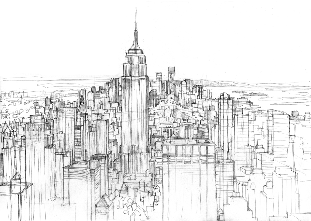 Free Skyline Drawing Download Free Clip Art Free Clip