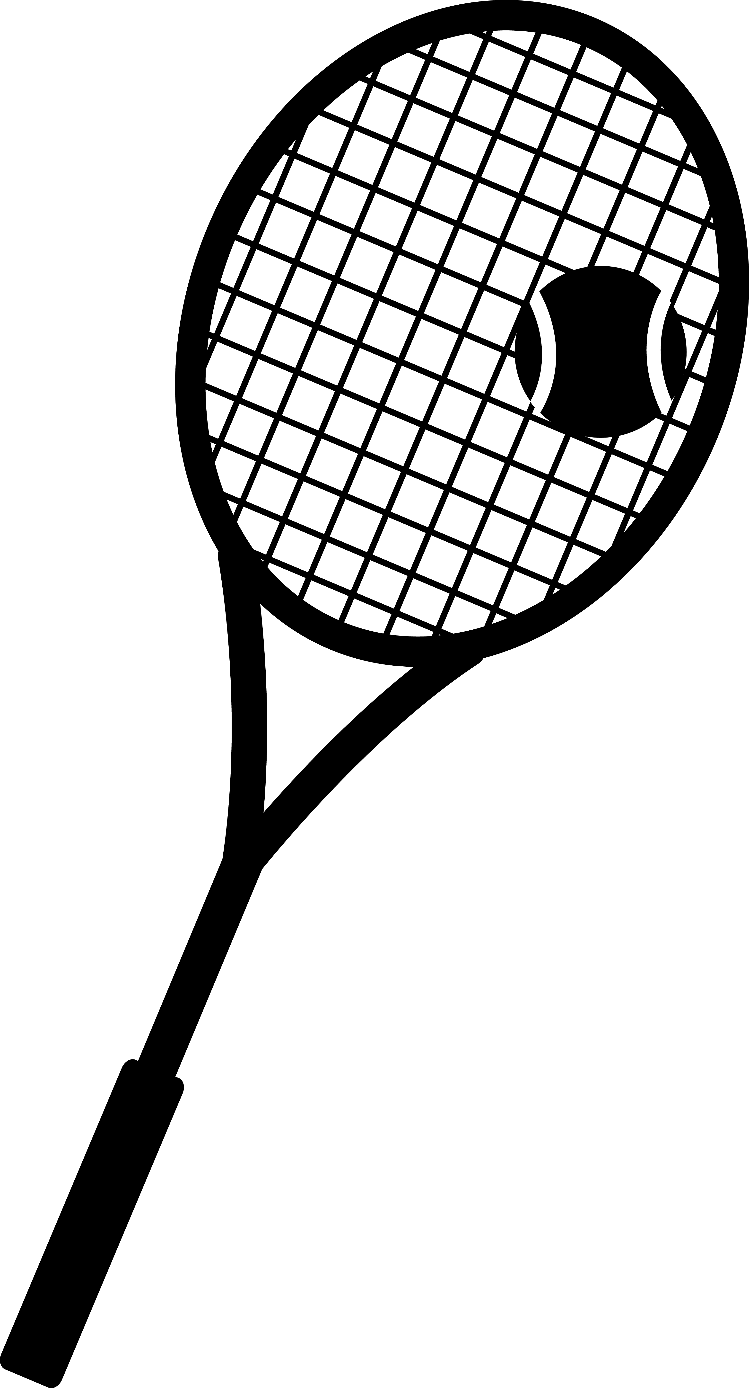 Crossed Tennis Racket Clipart Clipart Library