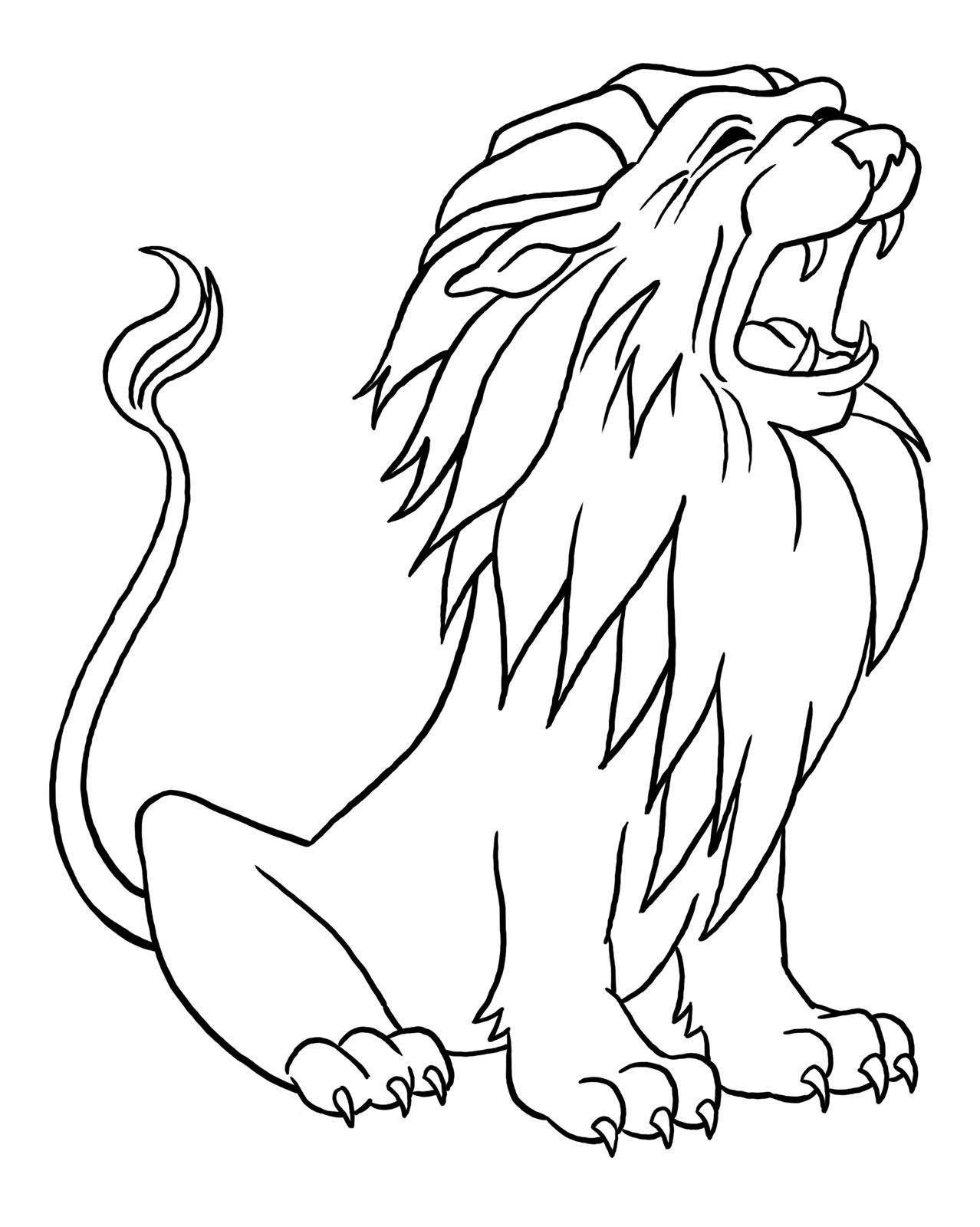 Free Cartoon Lion Pictures For Kids Download Free Clip