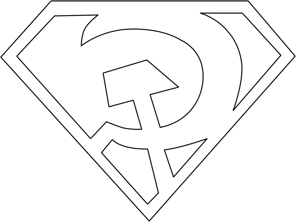 Free Superman Outline Download Free Clip Art Free Clip
