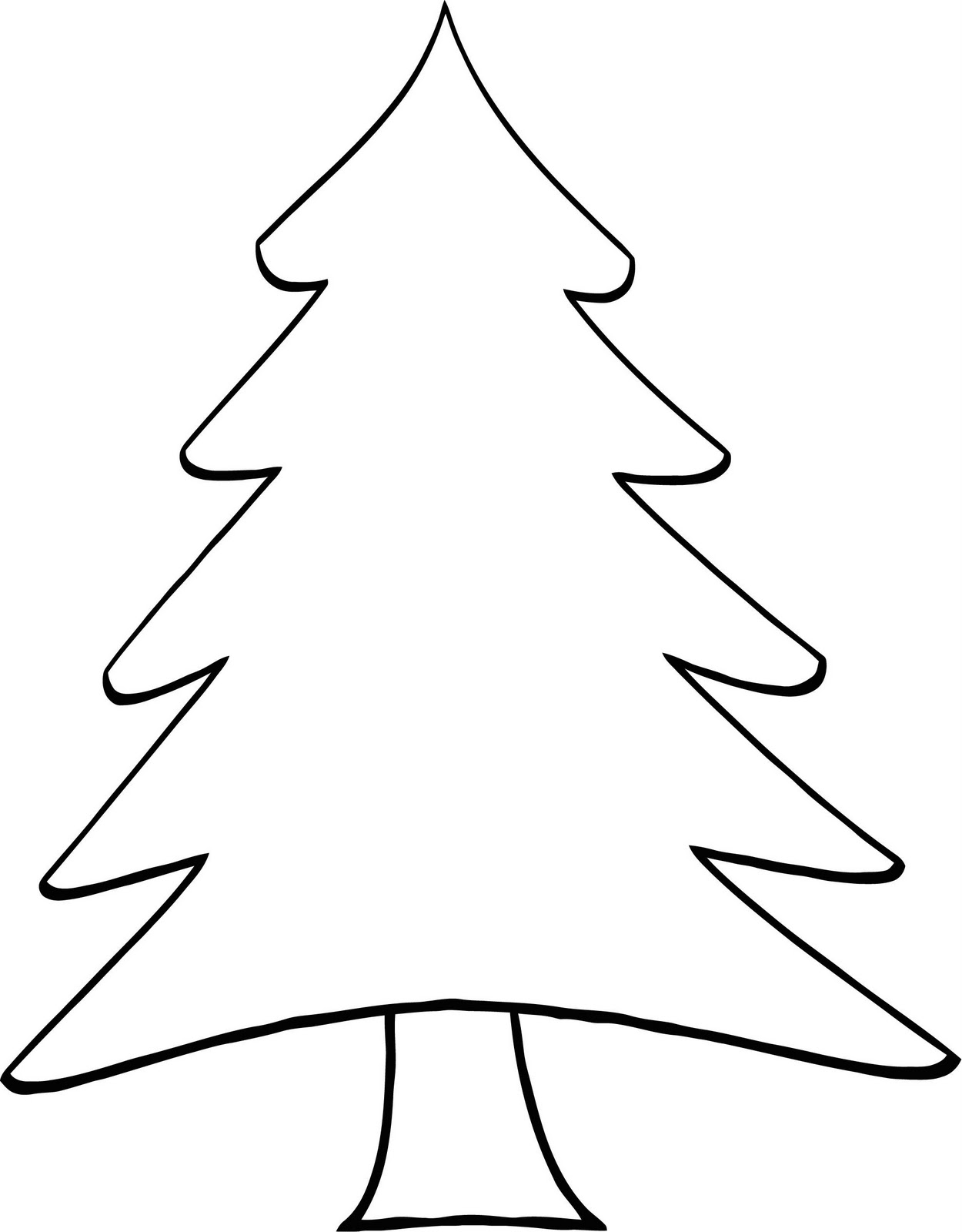 Free Pine Tree Outline Download Free Clip Art Free Clip