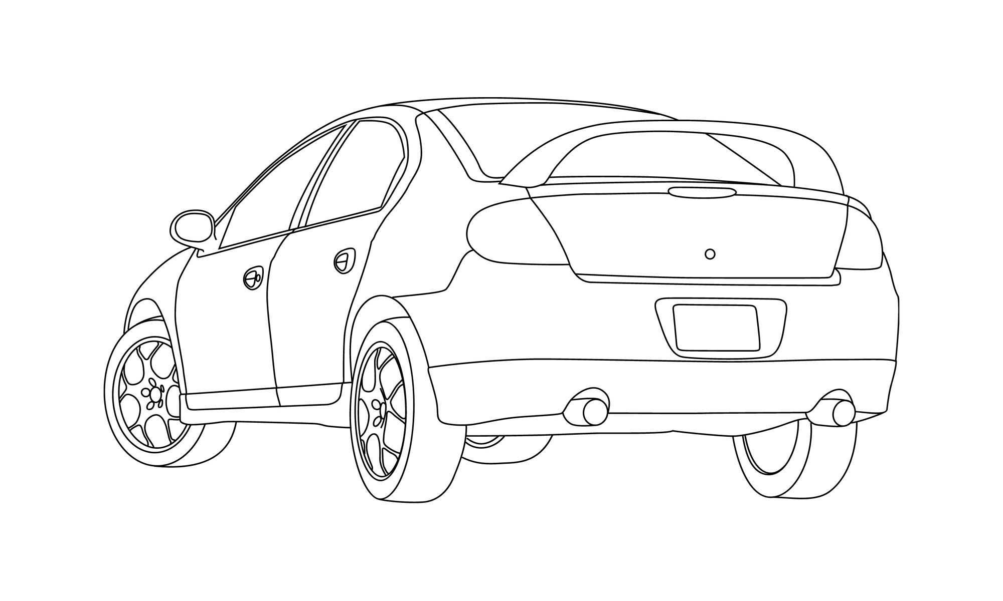 Dibujo Paa Colorear De Motor Dodge Hemi Dibujos Para