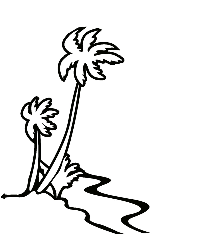 Flowers For Hawaiian Flowers Border Clip Art