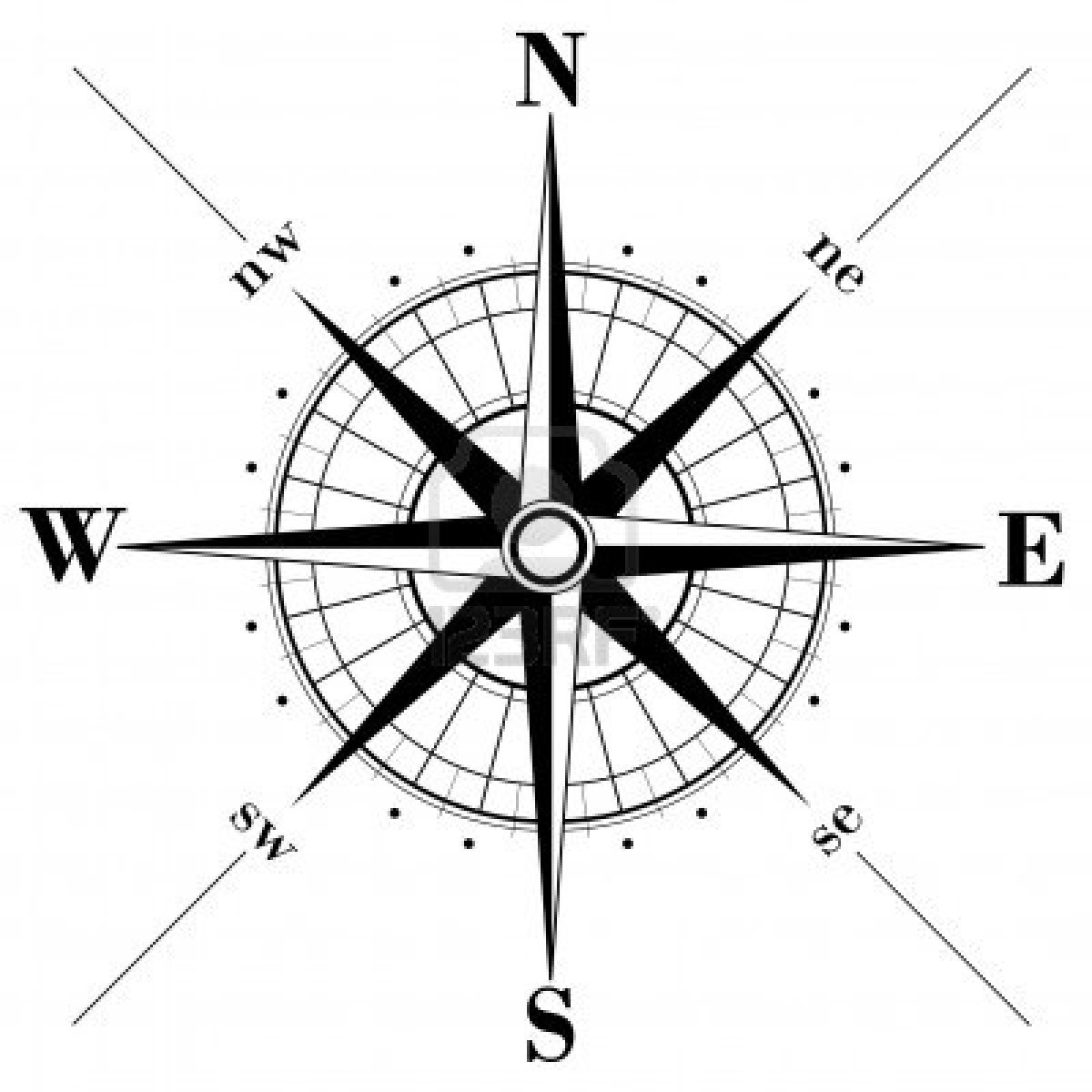 Free Rose Compass Drawing Download Free Clip Art Free