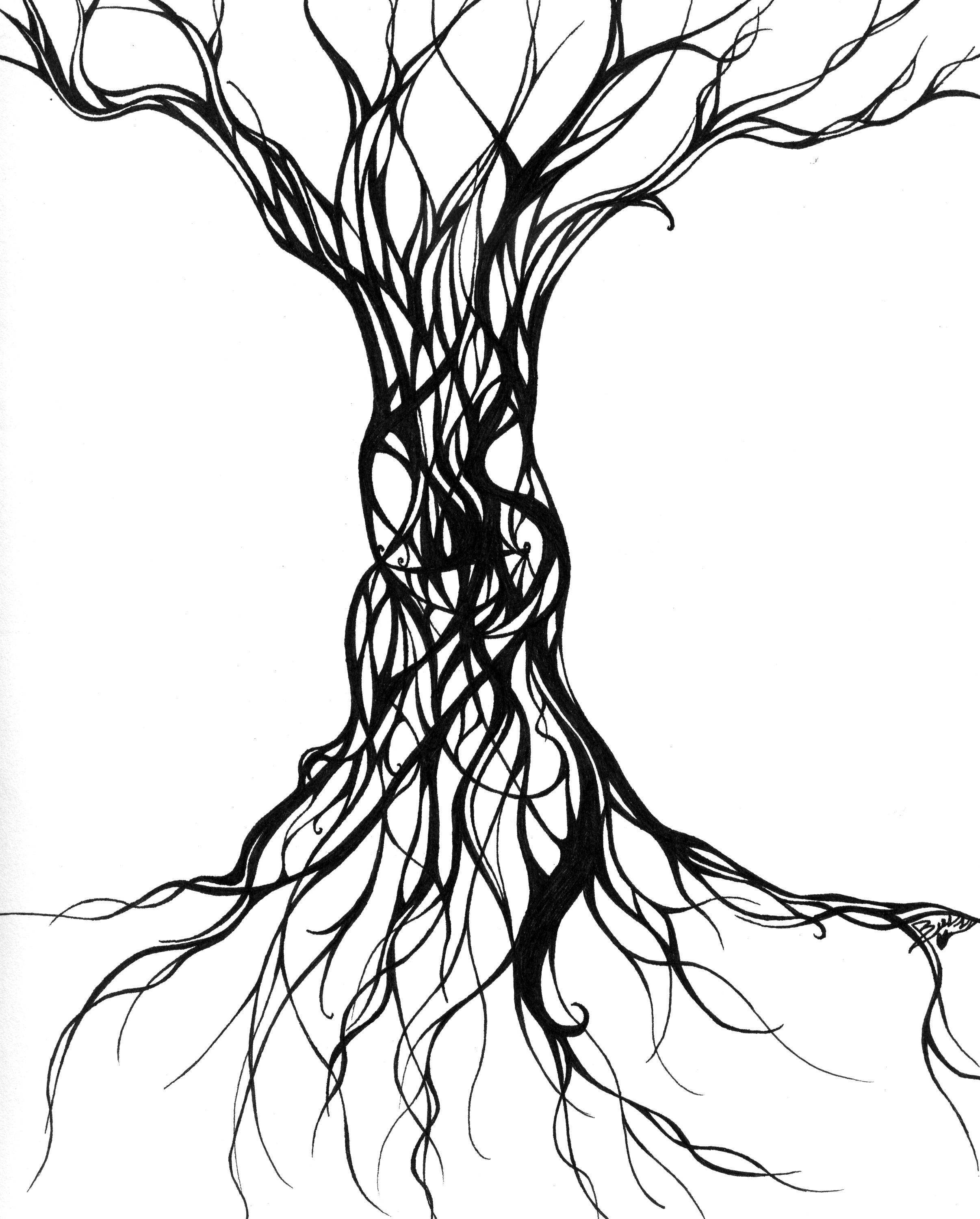 Evil Tree By Terrible Beauty On Clipart Library