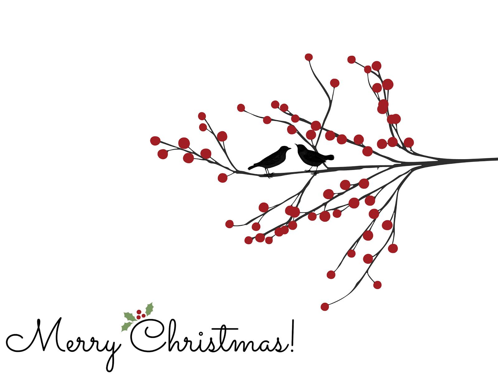 Bluebird Christmas Graphics