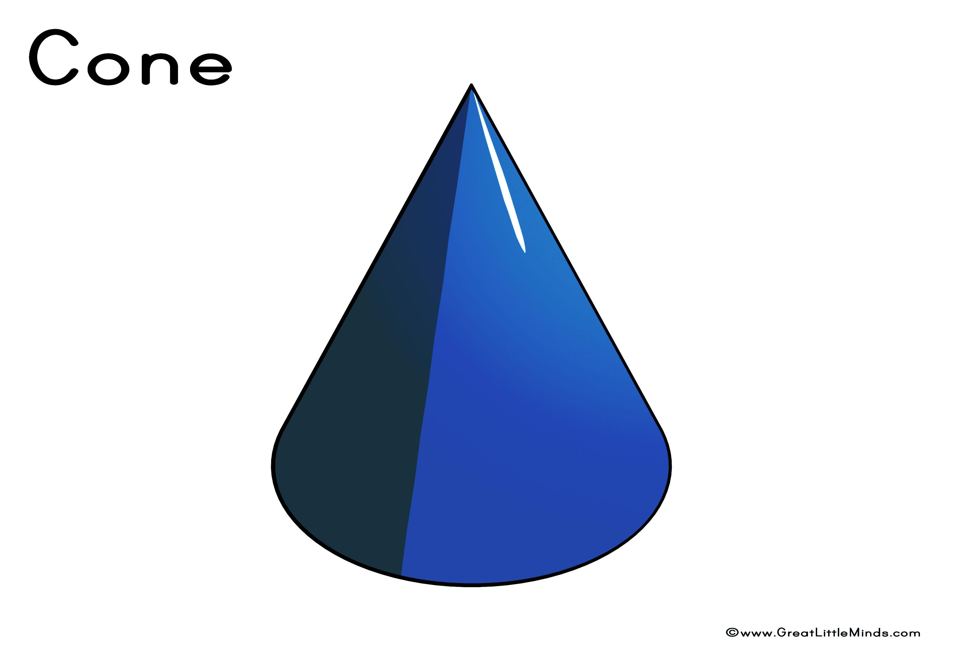 Free Cone 3 D Shape Download Free Clip Art Free Clip Art