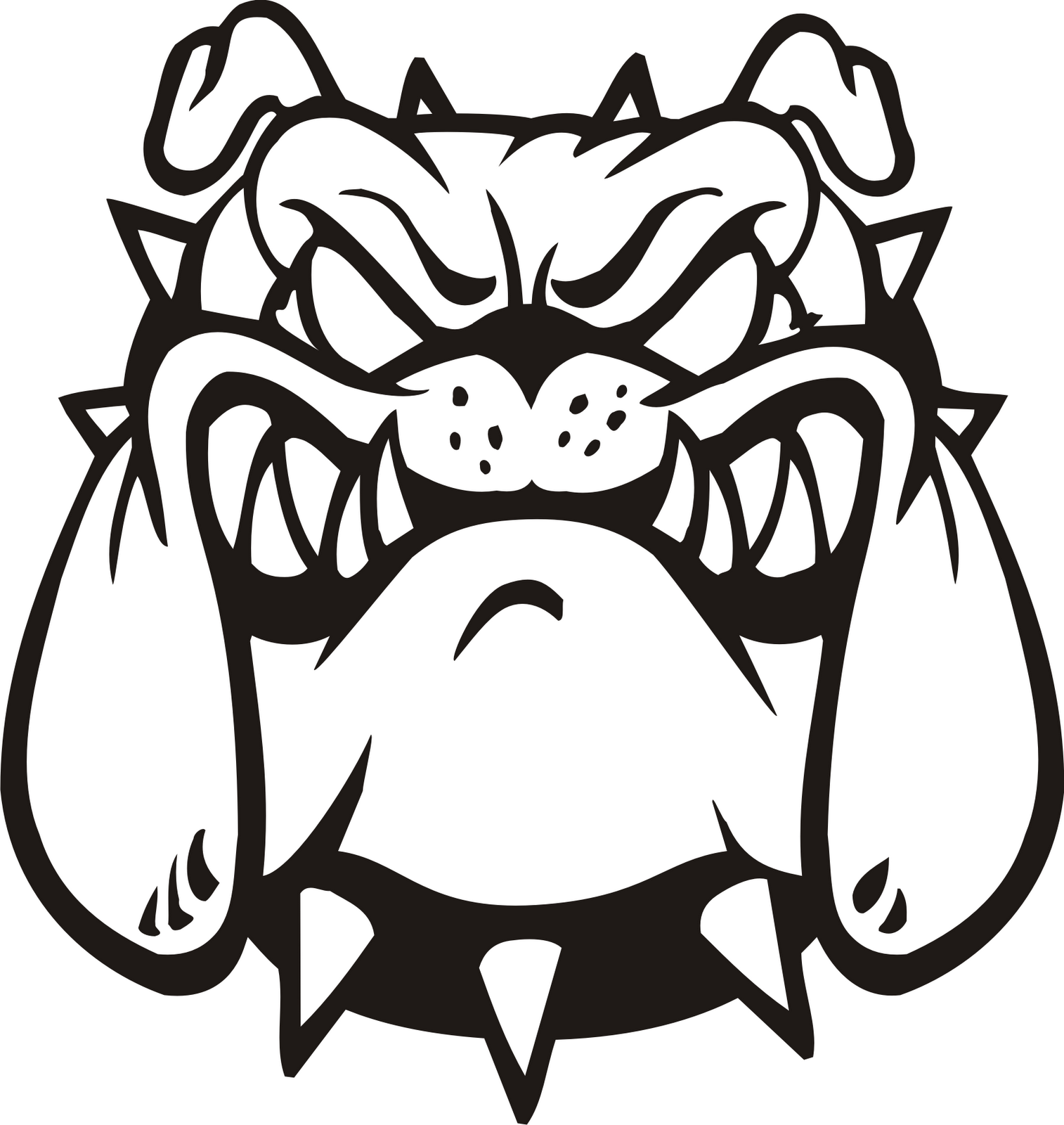 Free Bulldog Vector Art Download Free Clip Art Free Clip
