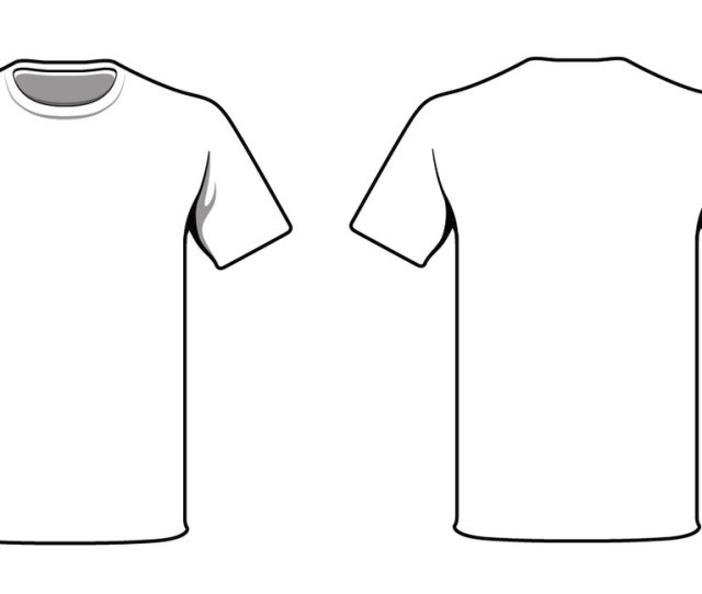 White T Shirt By Alymunibari On Clipart Library