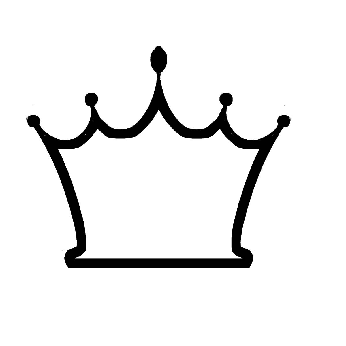 Free Crown Outline Template Download Free Clip Art Free