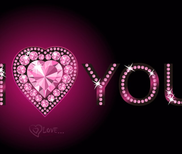 Free I Love You Wallpaper Wallpapers Hd Wallpapers
