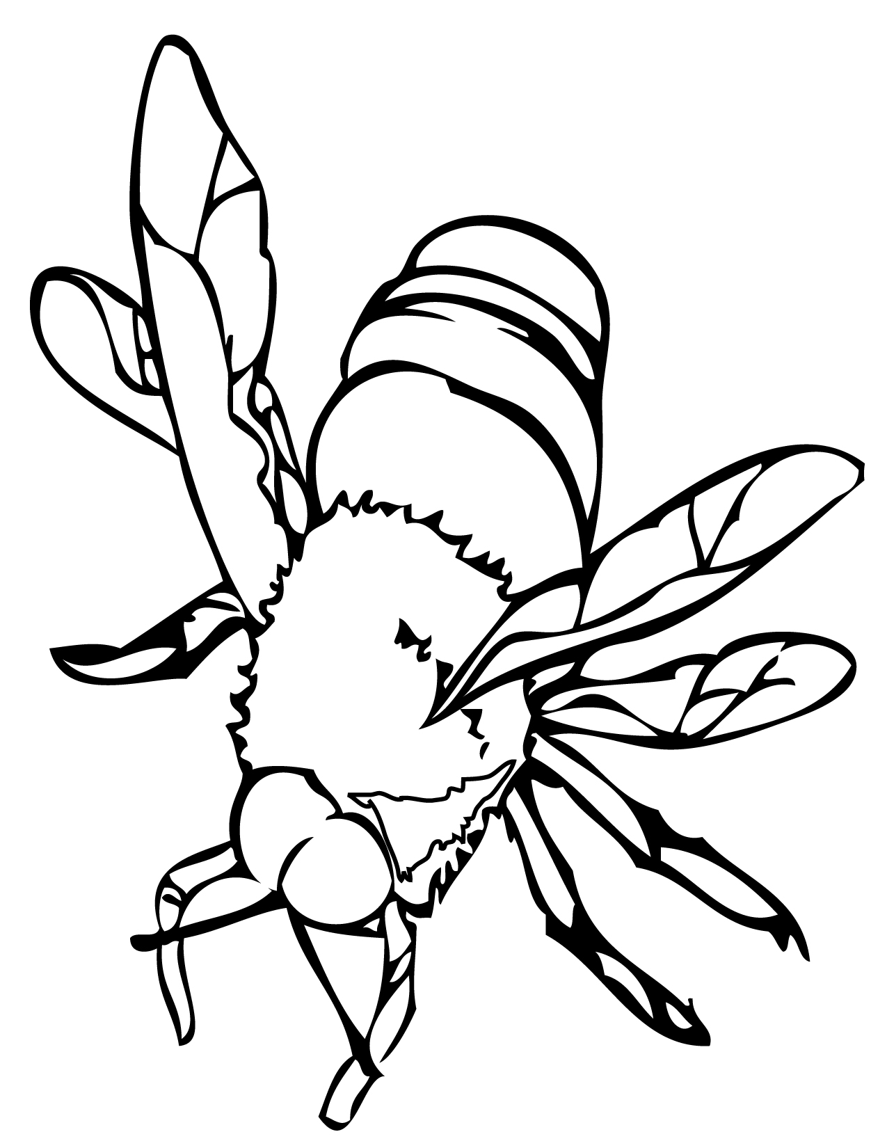 Bee Coloring Pages For Honey Lovers