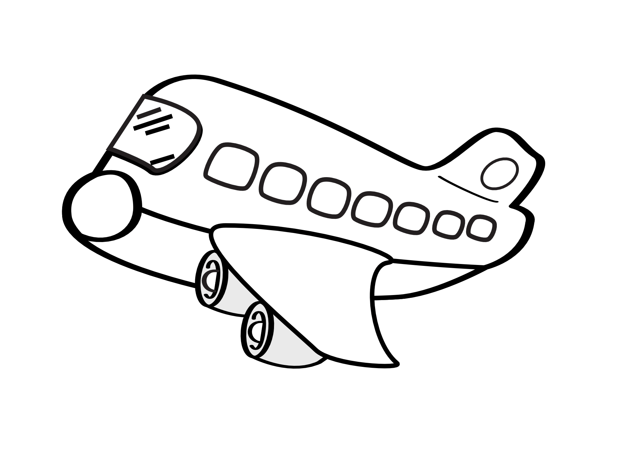 Free Airplane Cartoons For Kids Download Free Clip Art