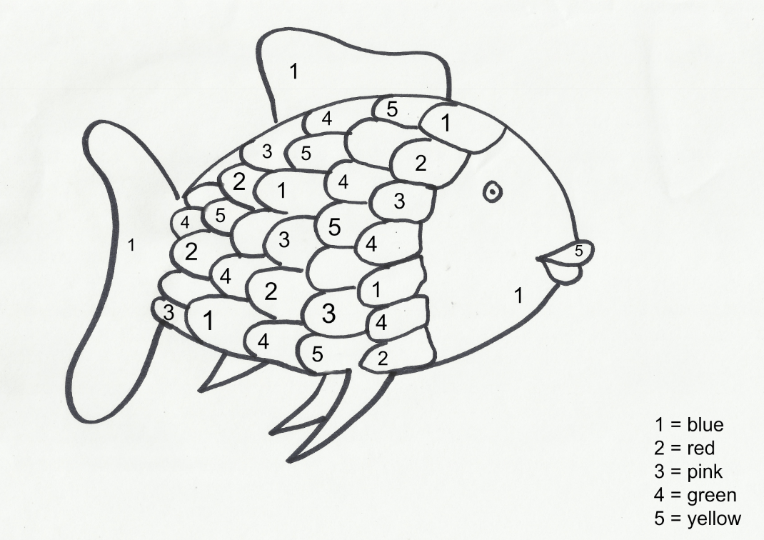 Rainbow Fish Coloring Page Free Printable Coloring Page Rainbow