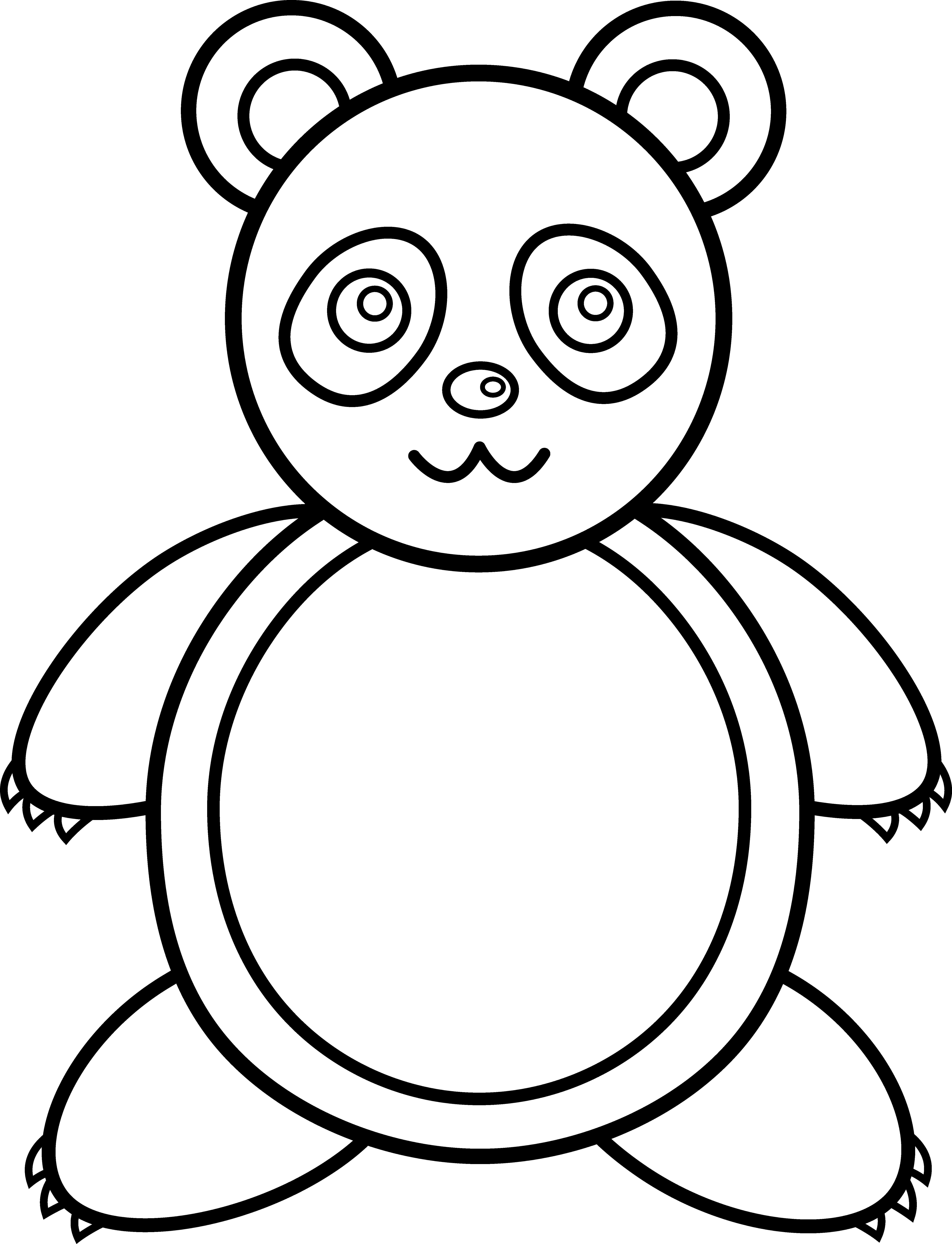 Free Outline Of A Bear Download Free Clip Art Free Clip