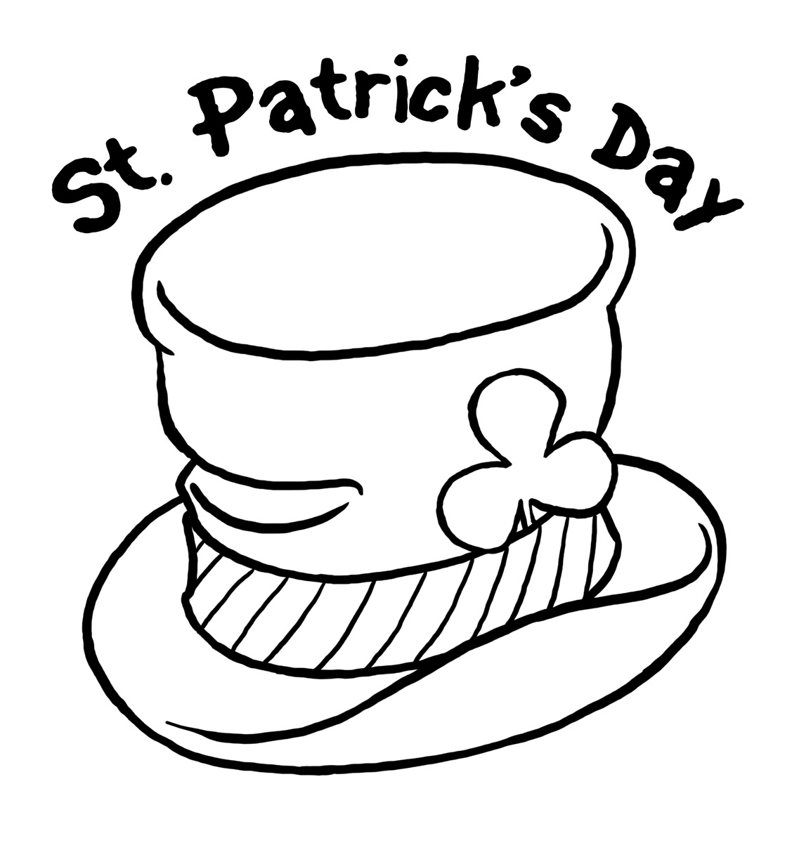 Free St Patricks Day Drawings Download Free Clip Art