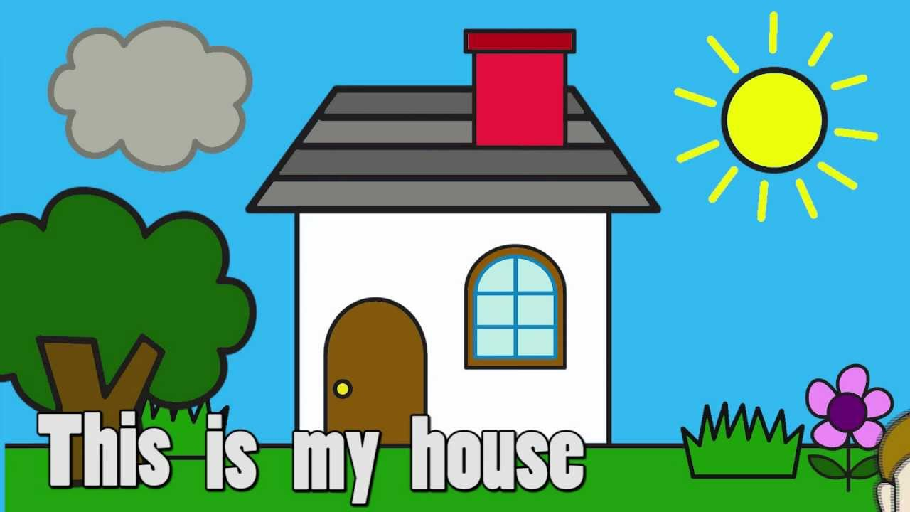 My Dream House Drawing For Kids Clip Art Library