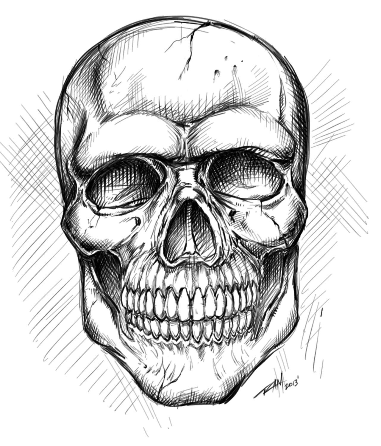 Free Skull Drawing Download Free Clip Art Free Clip Art
