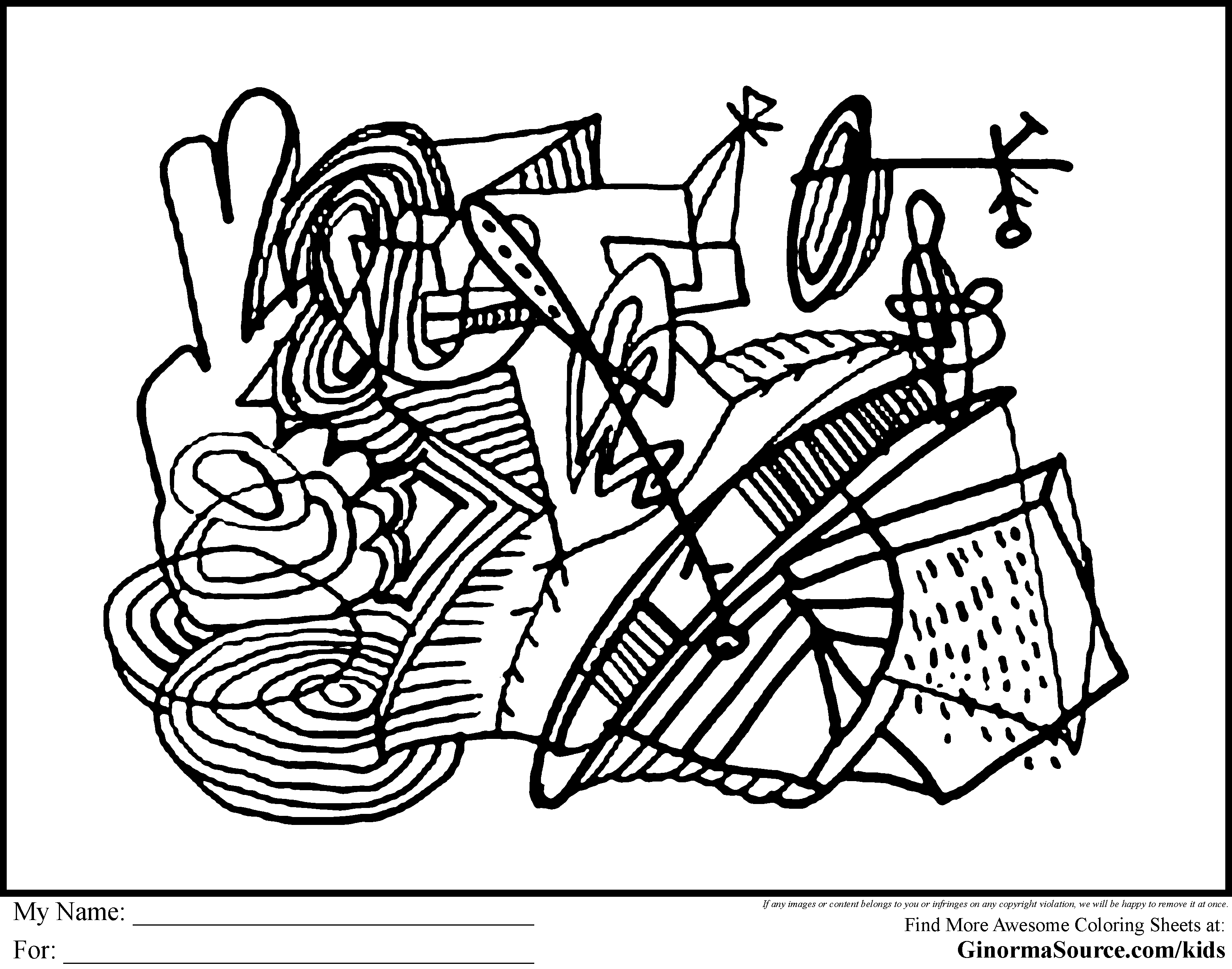 Free Coloring Pages Of Self Expression