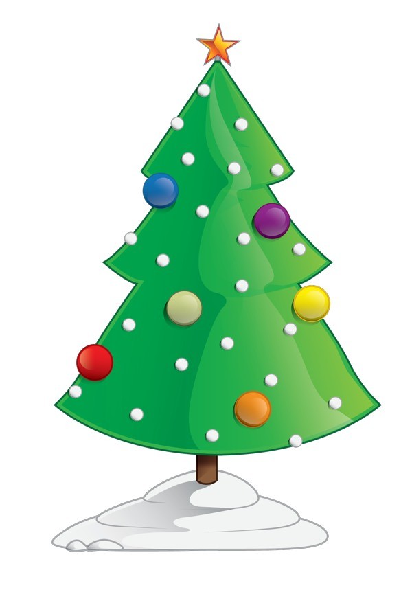 My Home Reference Clipart Christmas Tree Outline My Home
