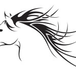 Free Horse Head Tatoo Download Free Clip Art Free Clip Art On Clipart Library