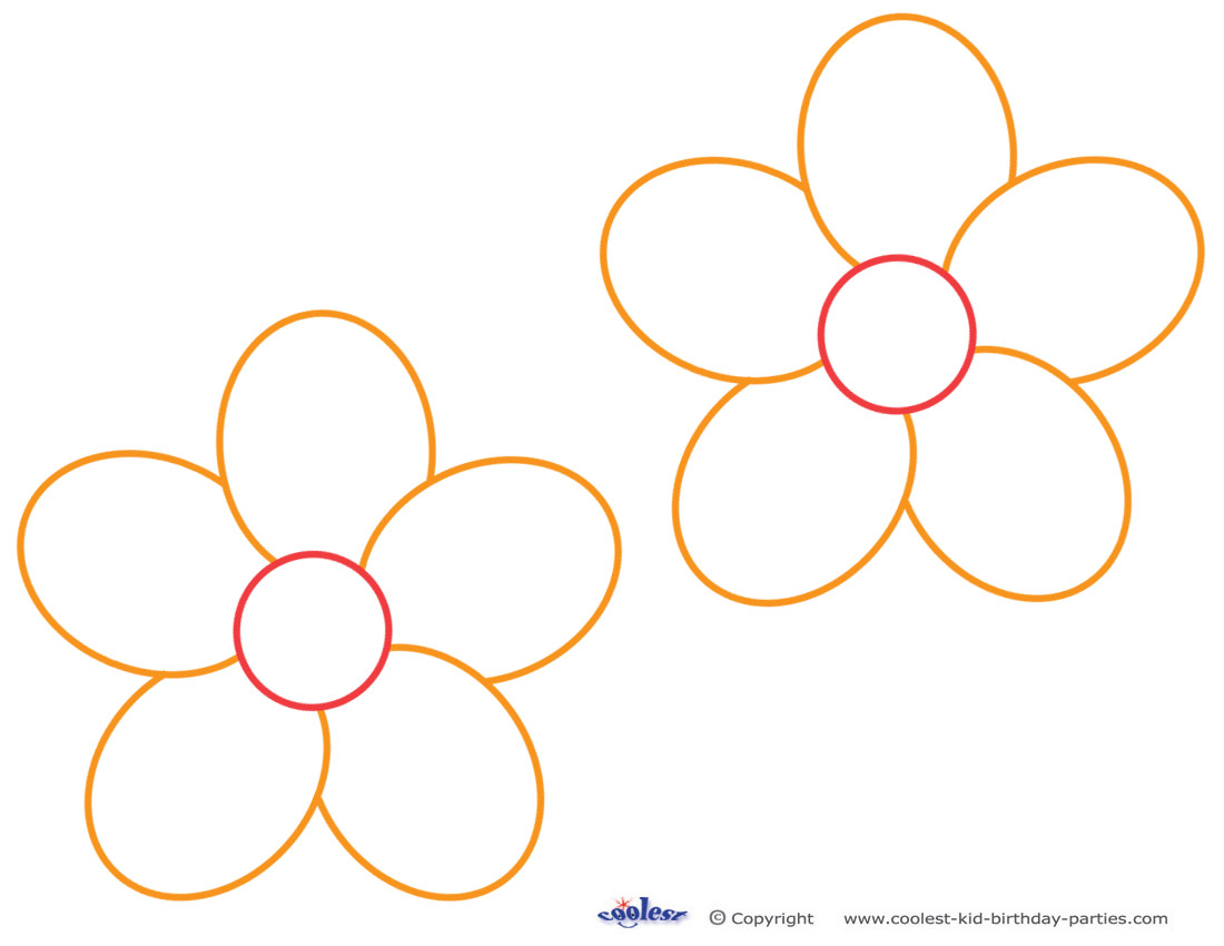 Free Free Flower Templates Printable Download Free Clip