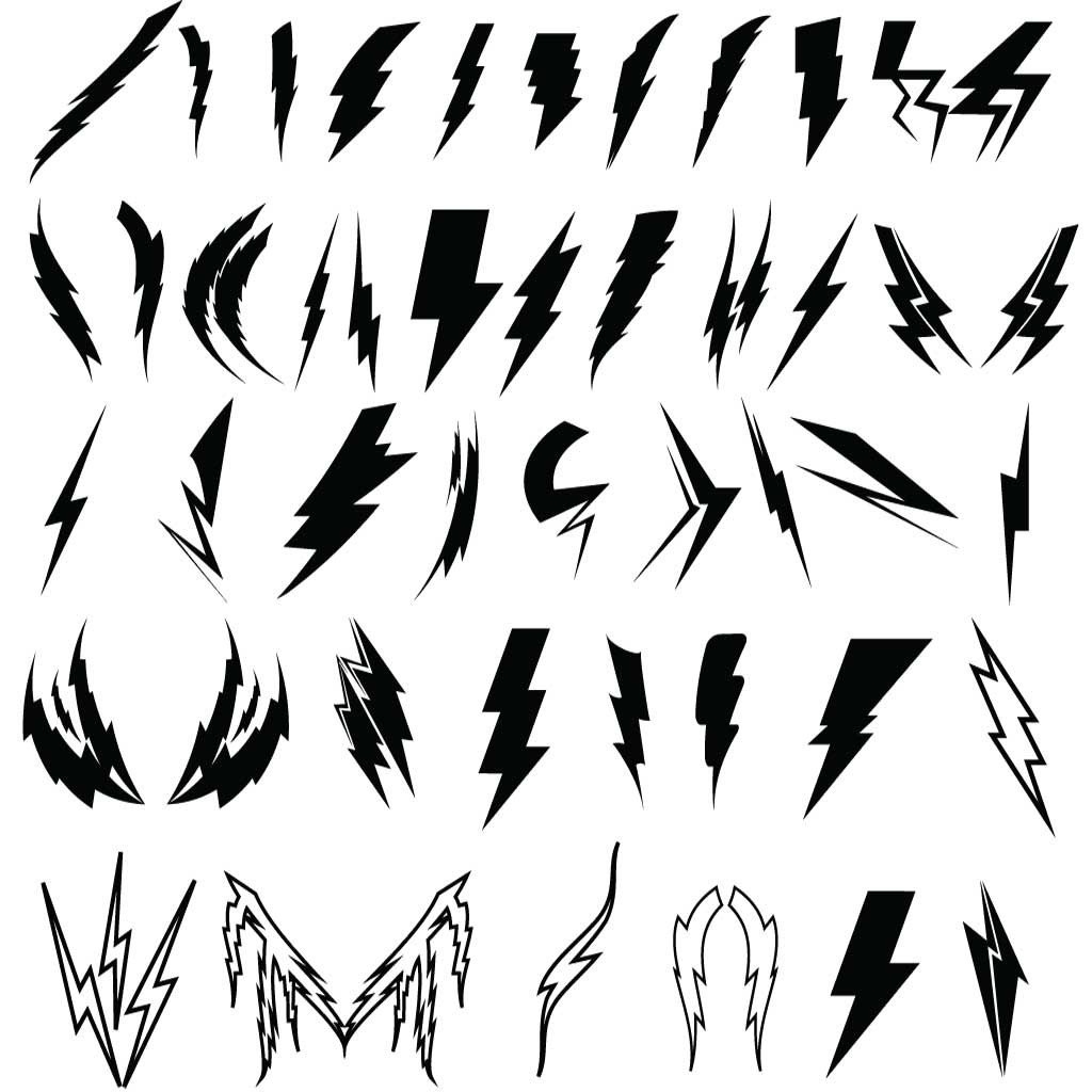 Free Lightning Bolt Graphic Download Free Clip Art Free