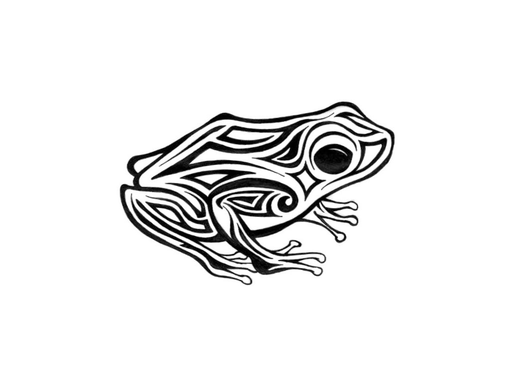 Pin Psychedelic Frog Tattoos