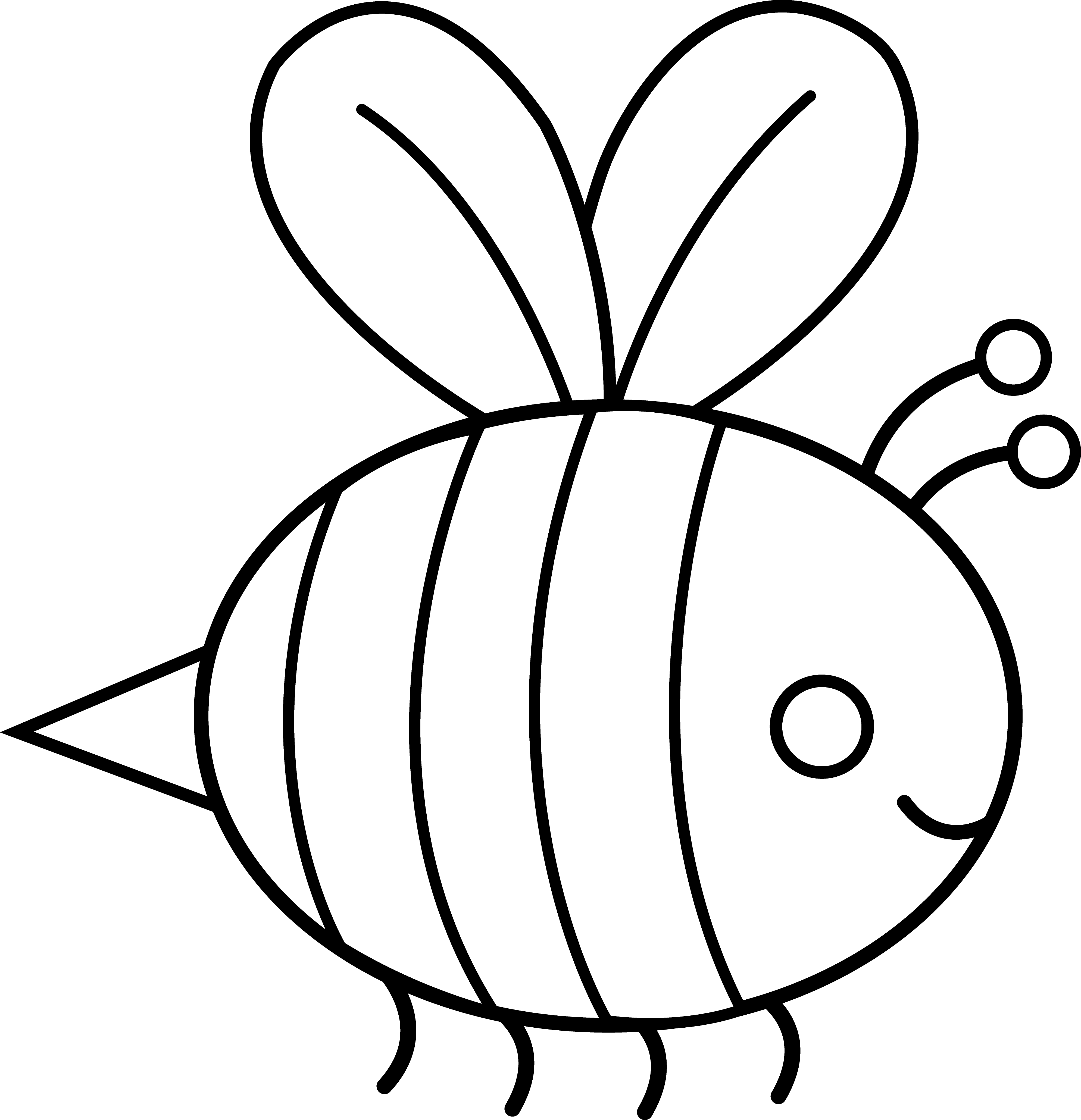 Free Bumble Bee Outline Download Free Clip Art Free Clip