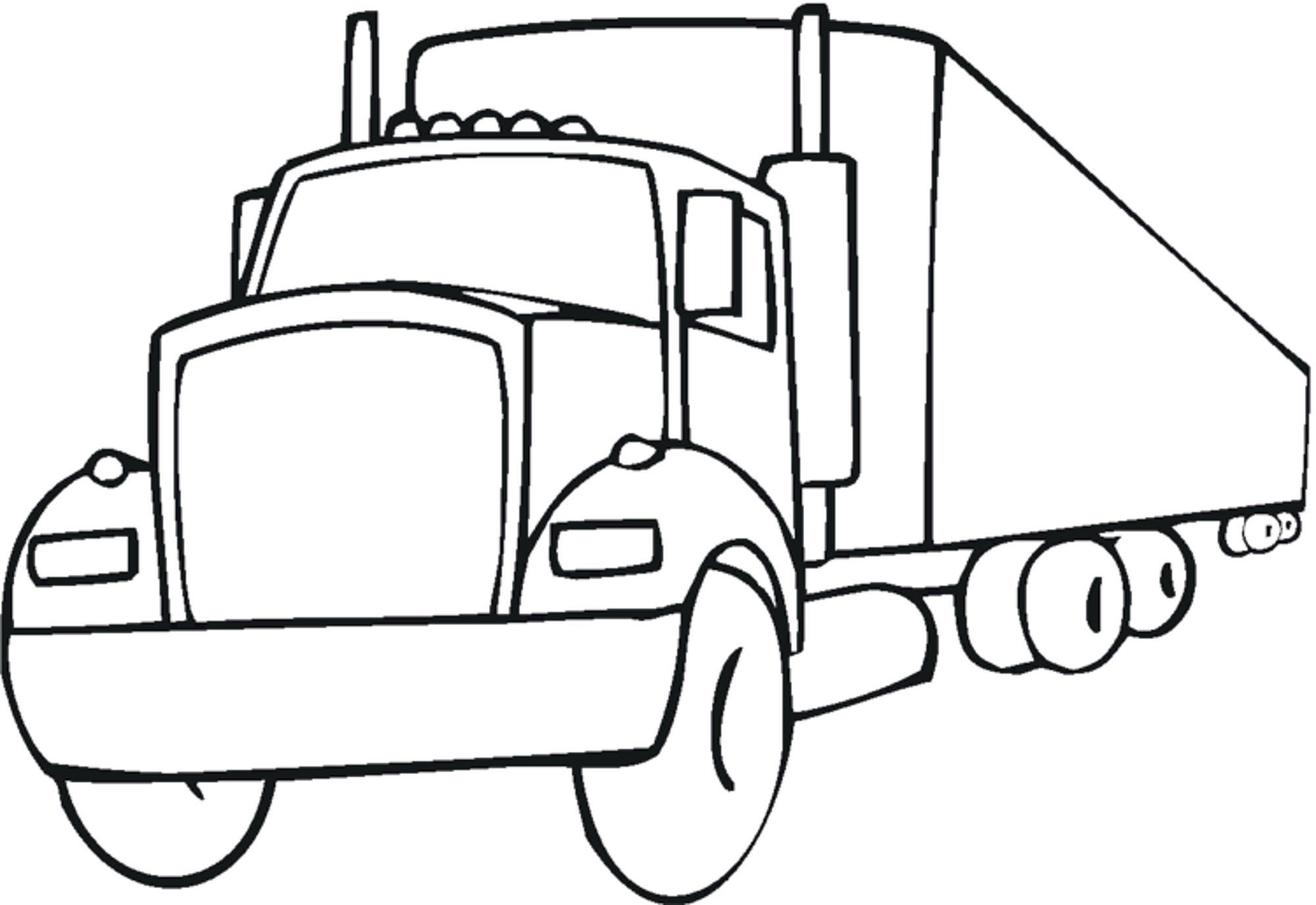 Free Truck Drawing For Kids Download Free Clip Art Free