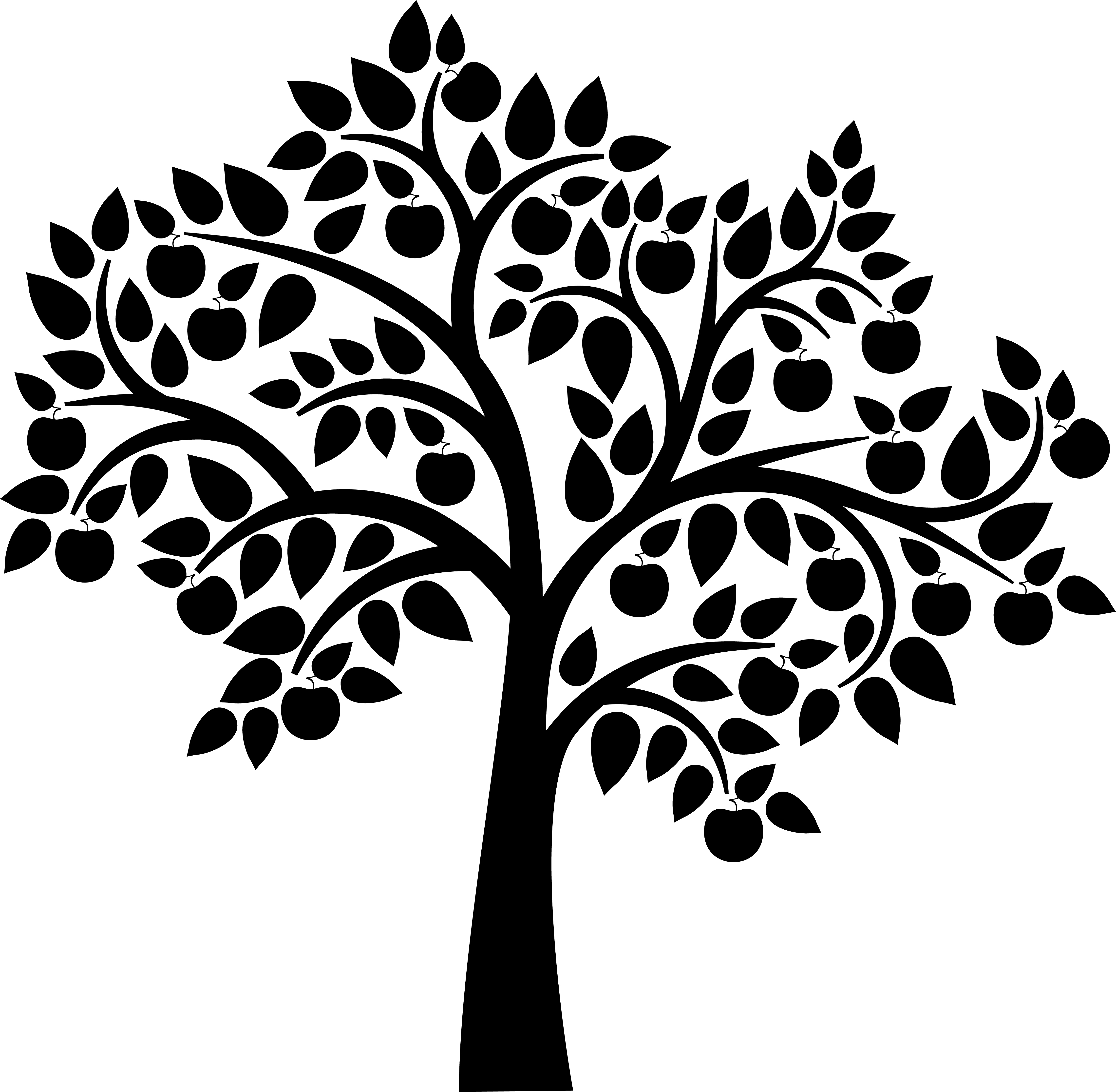 Free Silhouette Tree Download Free Clip Art Free Clip