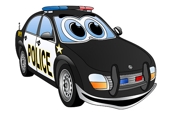 Cartoon Police Car Lowrider Car Pictures