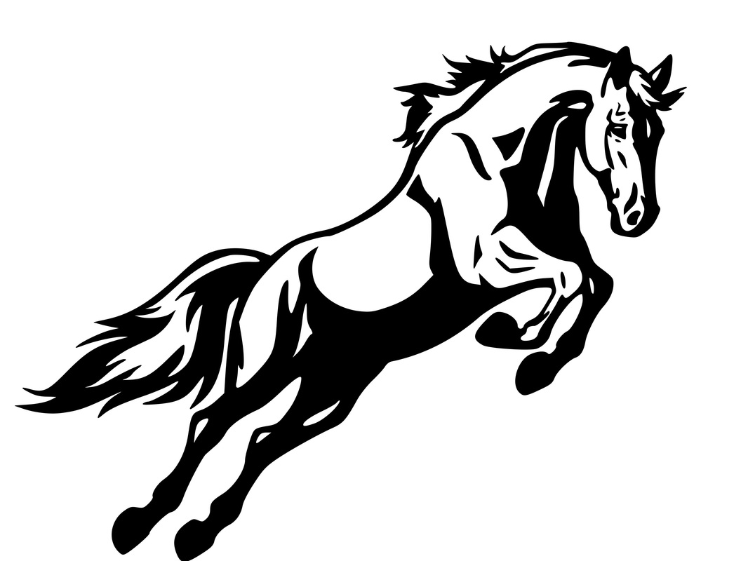 Free Horse Jumping Silhouette Download Free Clip Art