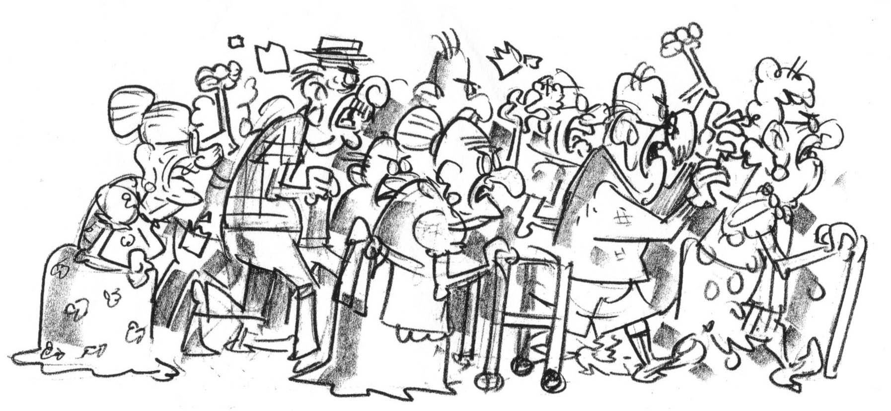 Free Old People Cartoon Download Free Clip Art Free Clip