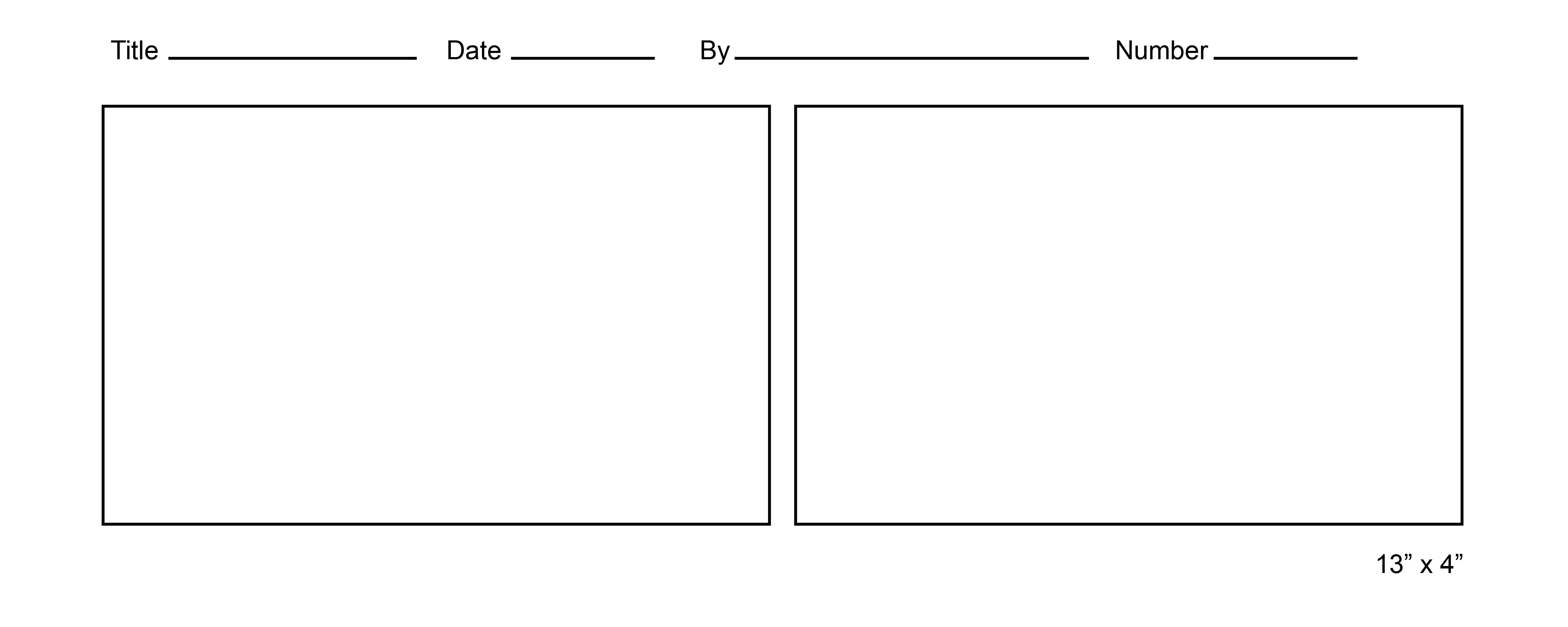 Free Printable Storyboard Template Download Free Clip Art Free Clip Art On Clipart Library